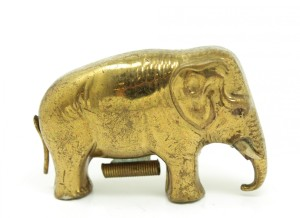 Vintage Figural Elephant Sewing Tape Measure