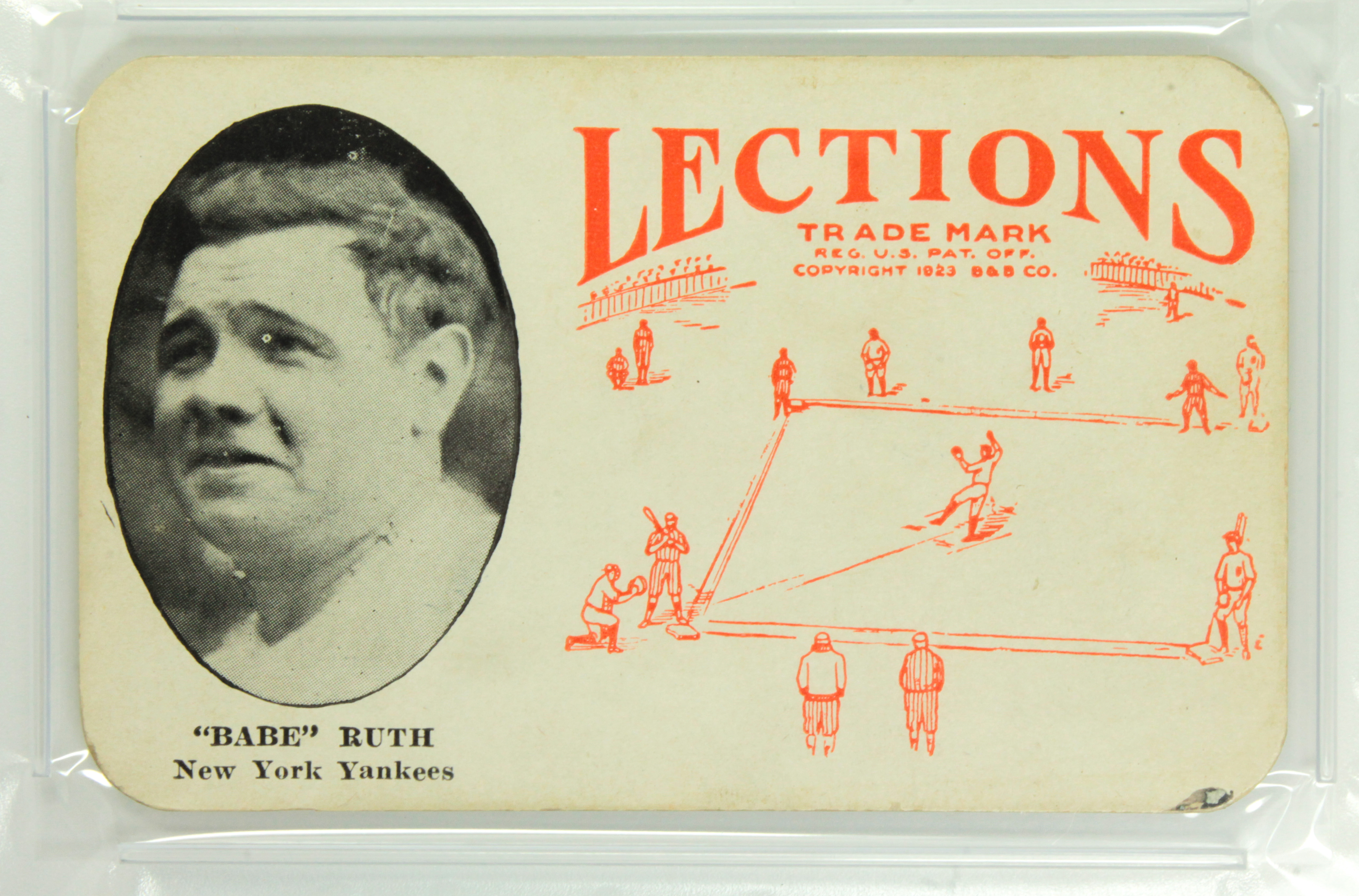 Babe Ruth and the Mystery of the 1923 Lections Baseball Cards